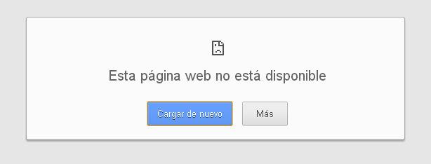 ¡Ayuda! «Esta página web no está disponible» – Aquí la Solución