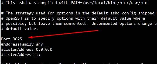 Cómo cambiar el puerto 22 de SSH a otro